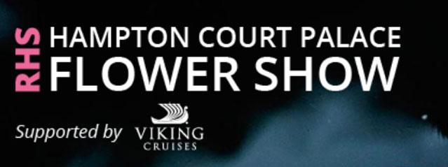 RHS hampton court flower show ogo