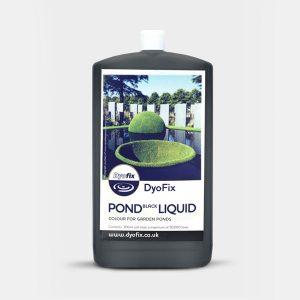 Pond black dye liquid