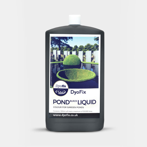 Pond black dye liquid