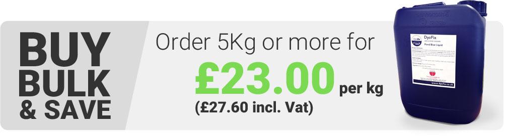 Order 5kg or more for £23.00 per kg
