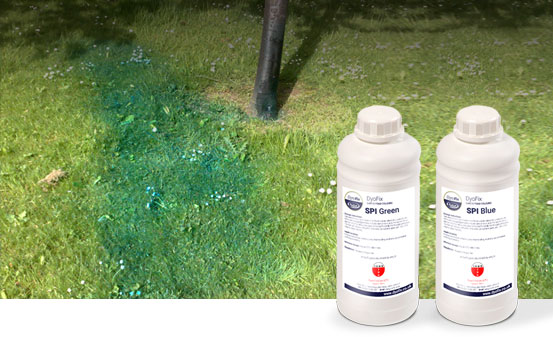 Spray Pattern Indicator dyes
