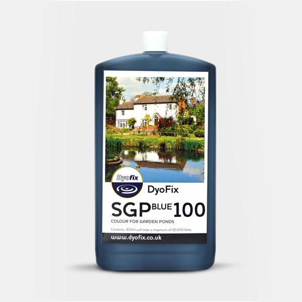 SGP Blue 100 pond dye for garden ponds