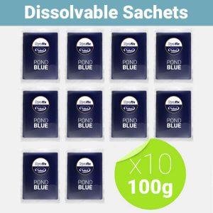 pond blue 1kg 10x 100g sachets