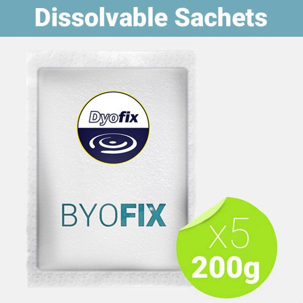 byofix good bacteria dissovable sachet for ponds