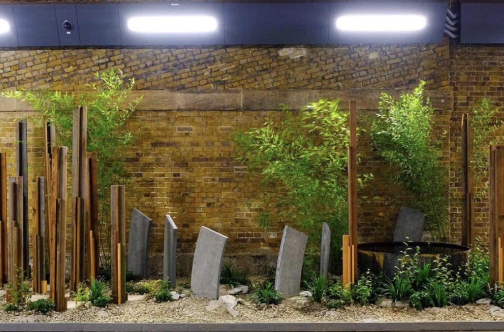 Urban oasis at London Bridge station walk-through